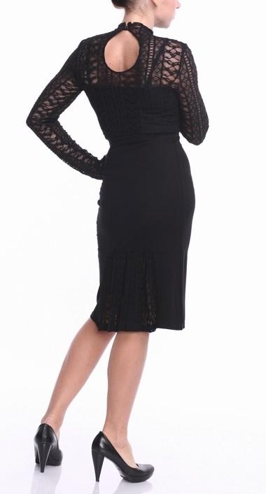 Mazā melnā kleitiņa zīdīšanai - izmērs L