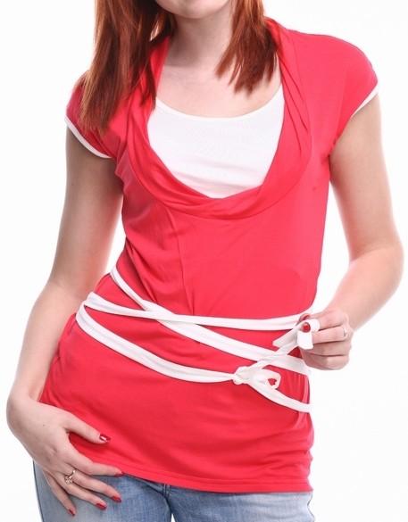 """Zīdīšanas tops """"Īriss"""" - apģērbs zīdīšanai, apģērbs barojošām un topošajām māmiņām"""