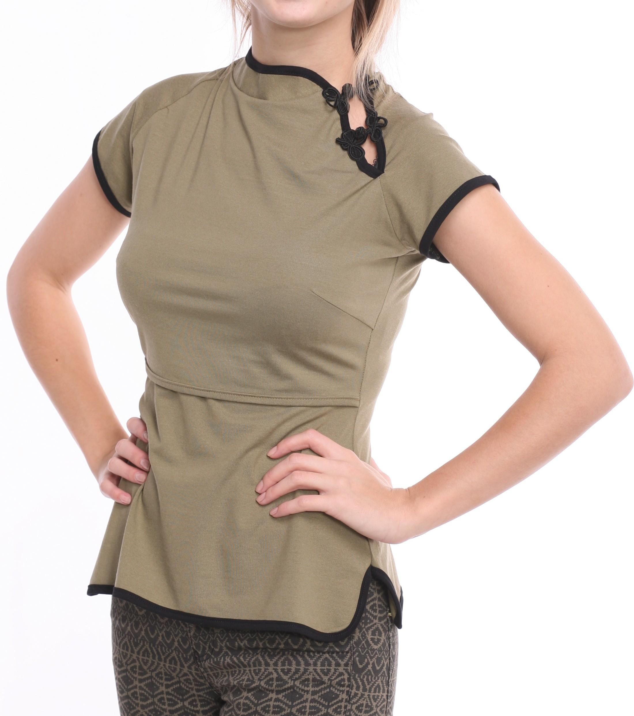 """Tops """"Āzija"""" zīdīšanai - apģērbs zīdīšanai, apģērbs barojošām un topošajām māmiņām"""