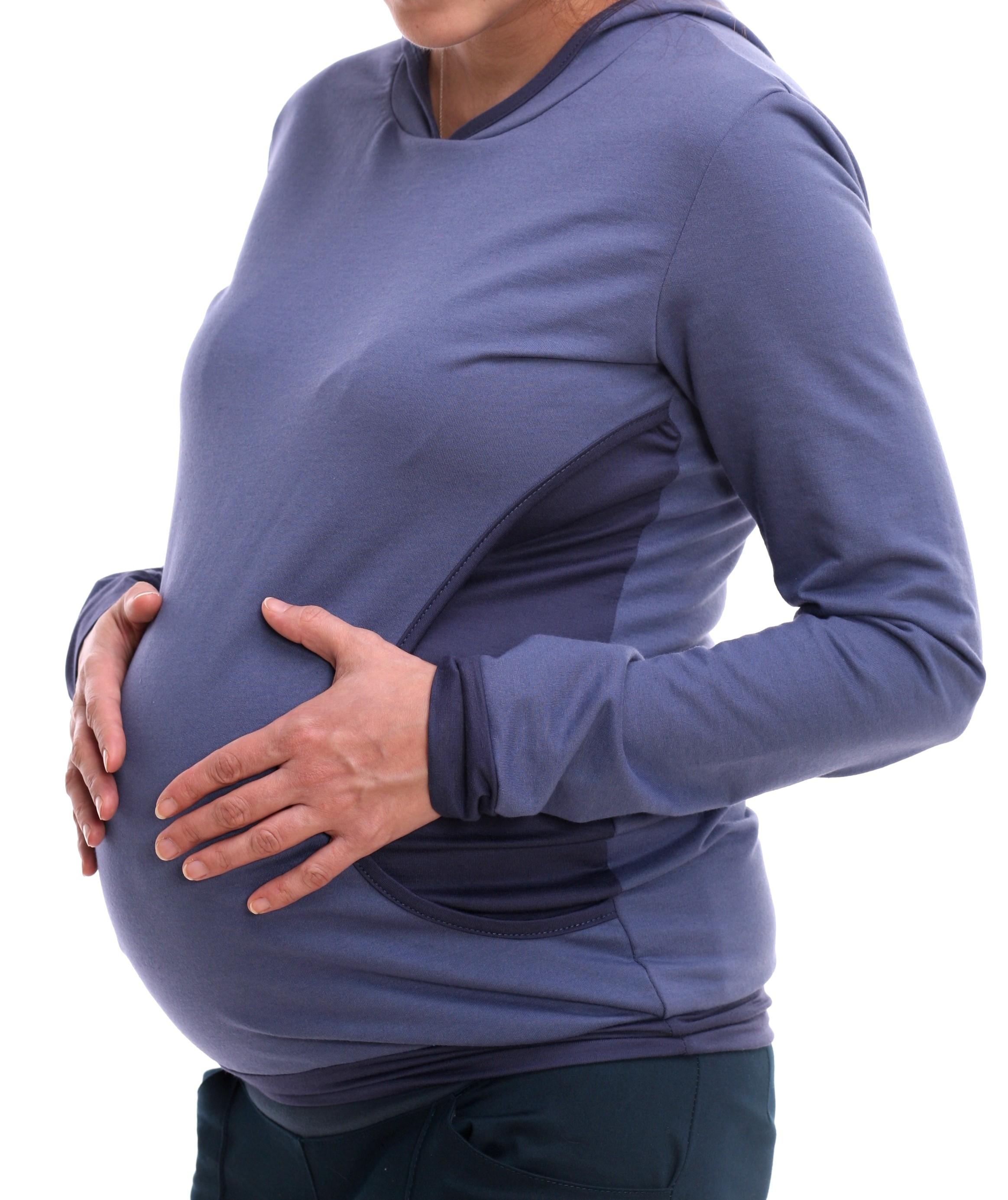 Flīsa jaciņa zīdīšanai un grūtniecībai