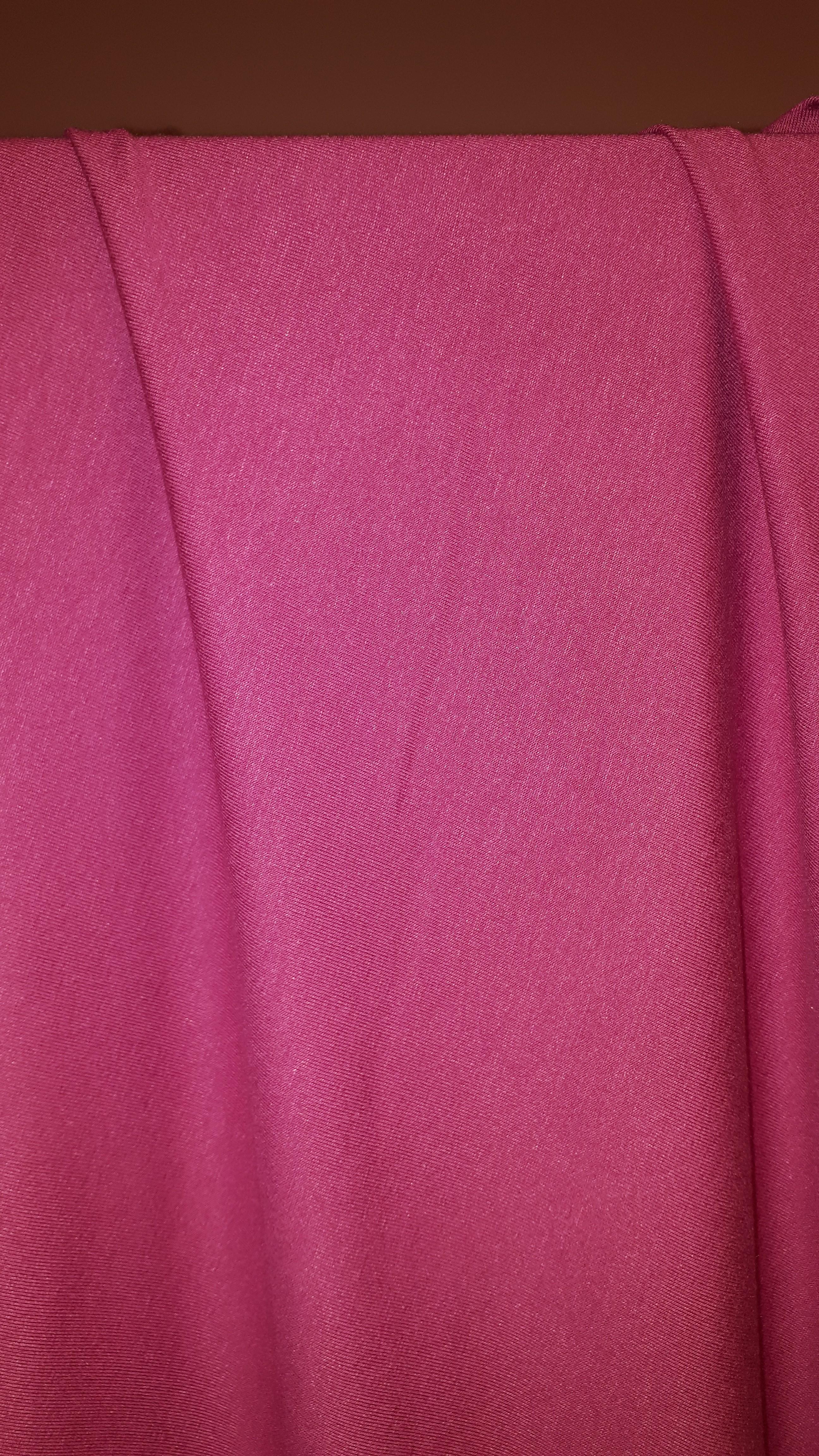 Rozā trikotāža - viskoze ar elastānu