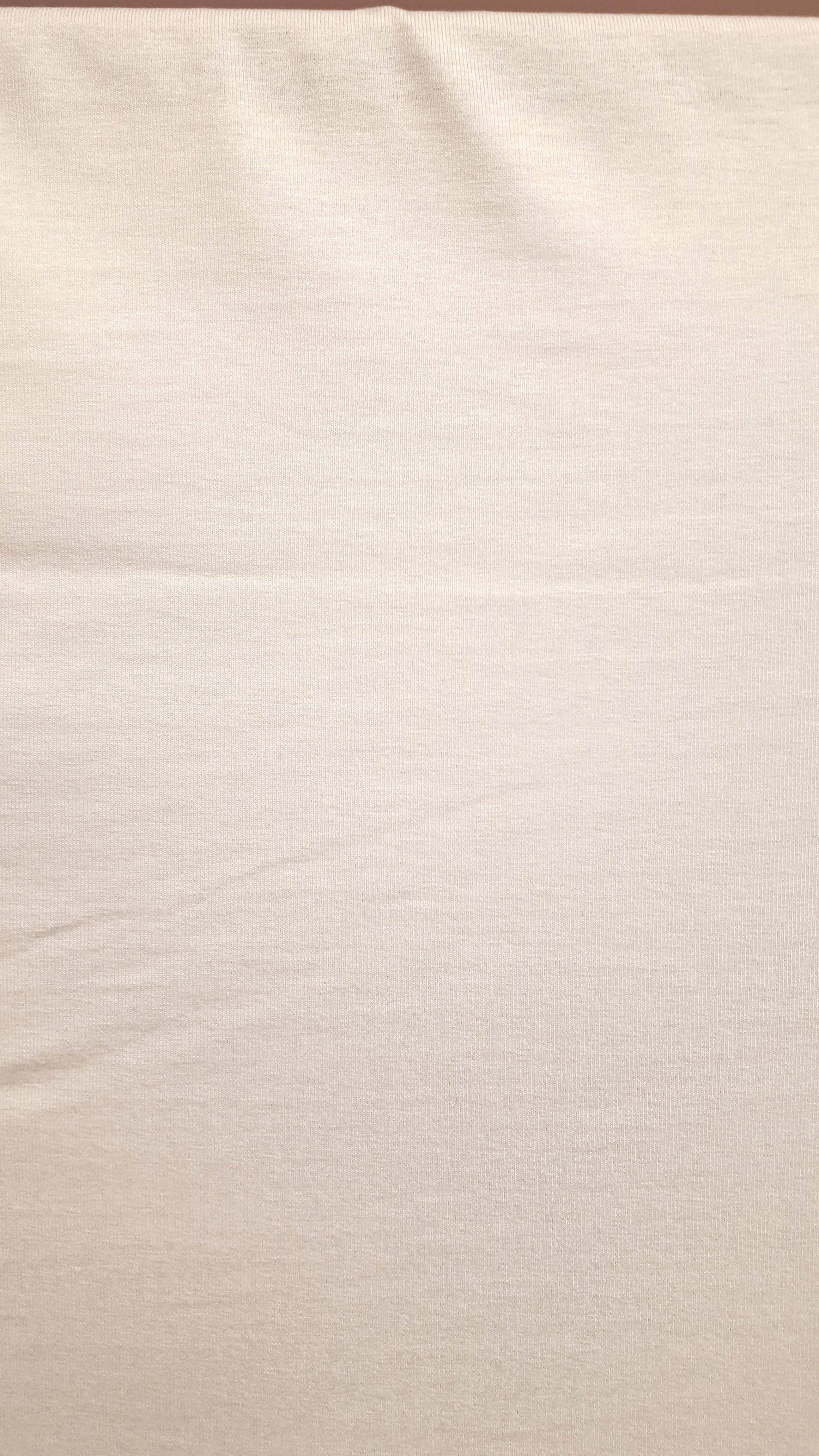 Balta krītoša trikotāža - viskoze ar elastānu