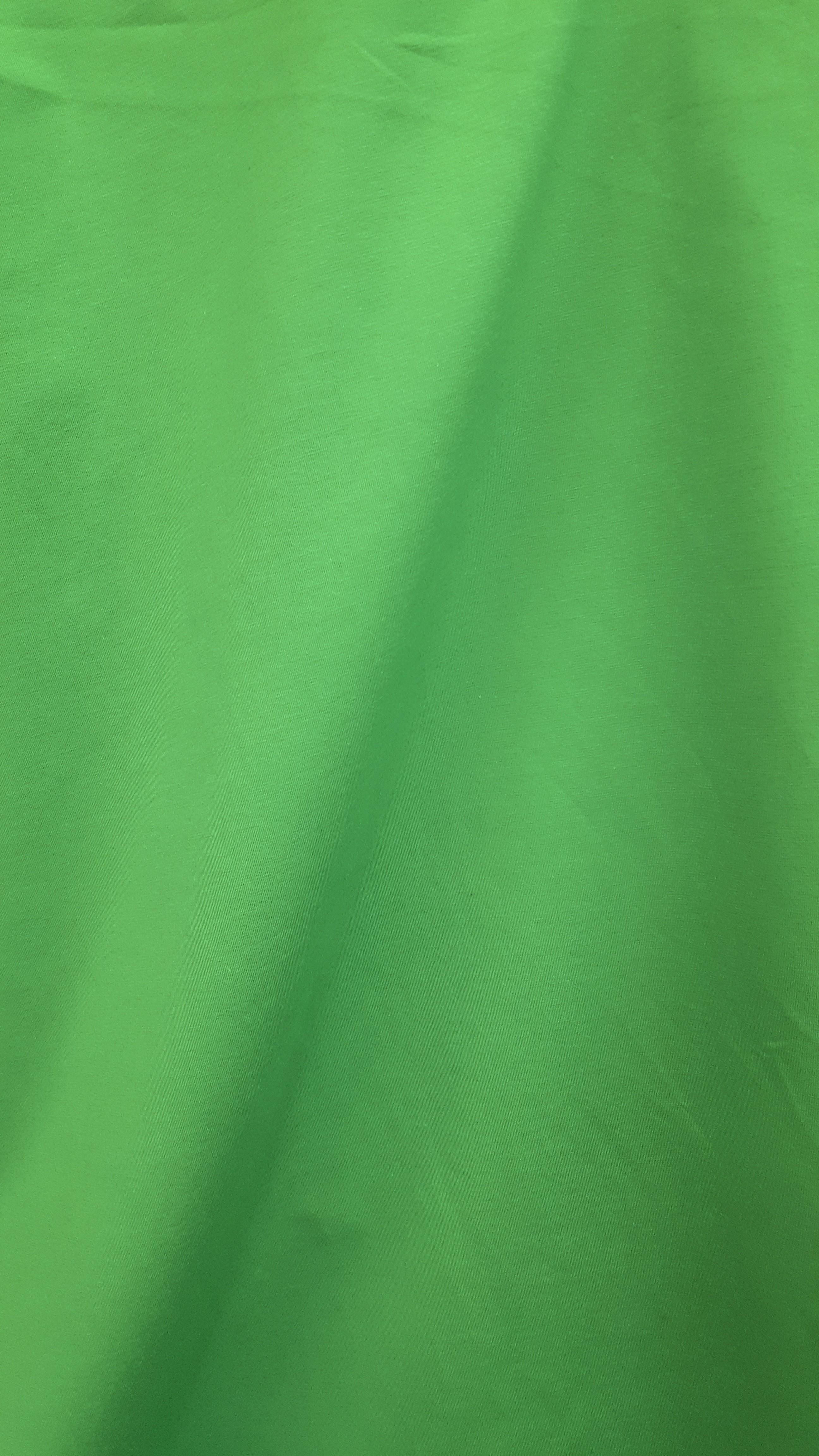 T-kreklu zaļa kokvilna ar elastānu