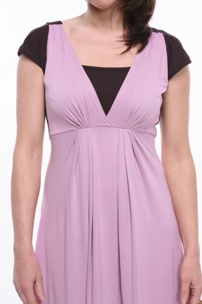"""""""Color block"""" kleita zīdīšanai un grūtniecībai - apģērbs zīdīšanai, apģērbs barojošām un topošajām māmiņām"""