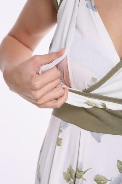 Kleita ar banti zīdīšanai un grūtniecībai - apģērbs zīdīšanai, apģērbs barojošām un topošajām māmiņām