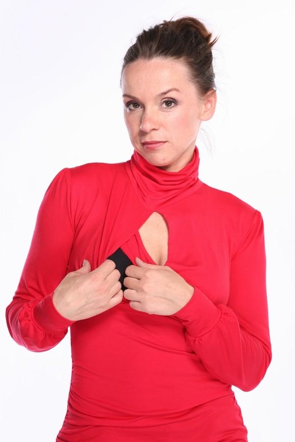 Retro stila tunika zīdīšanai un grūtniecībai - izmērs L, XL